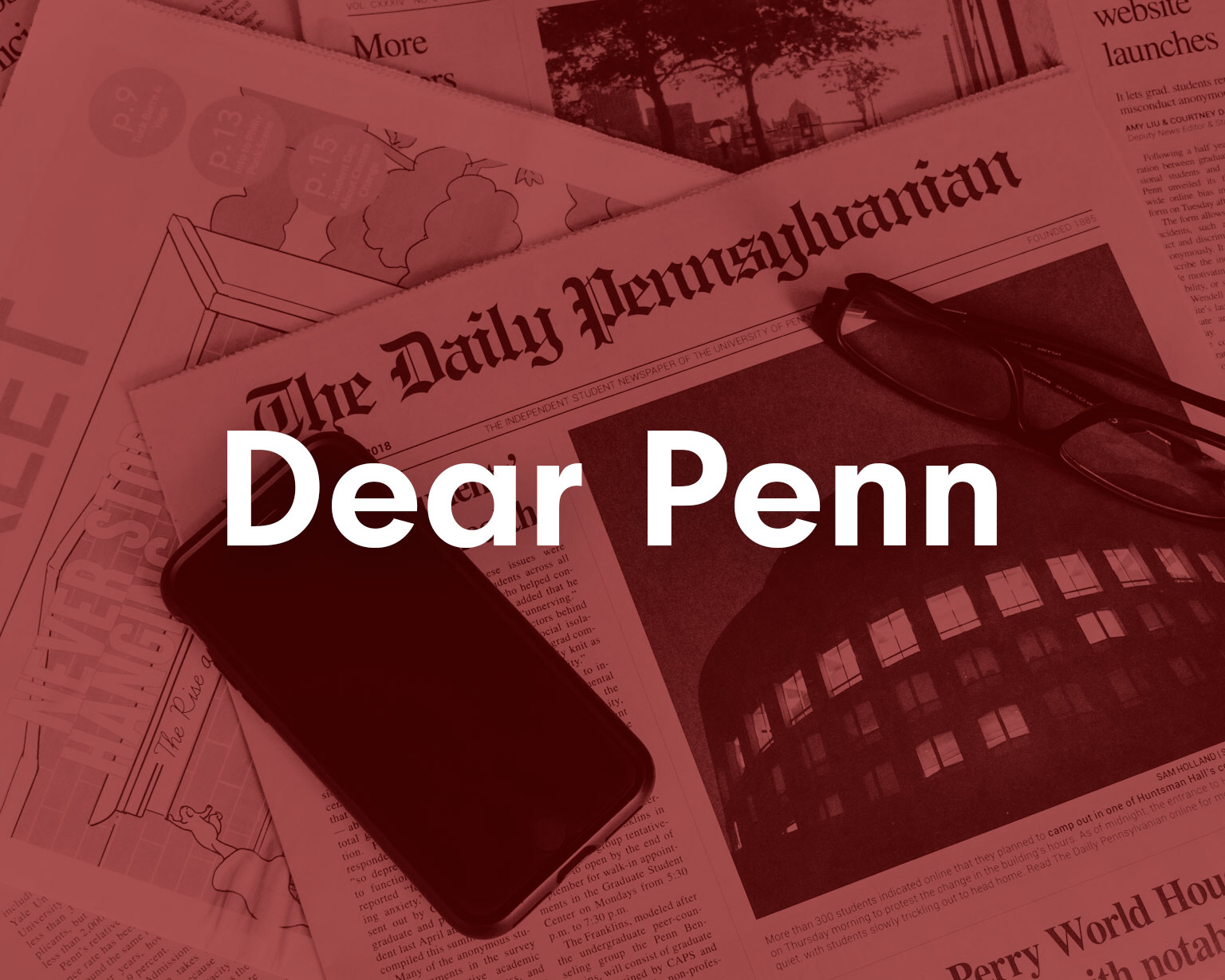 Dear Penn newsletter