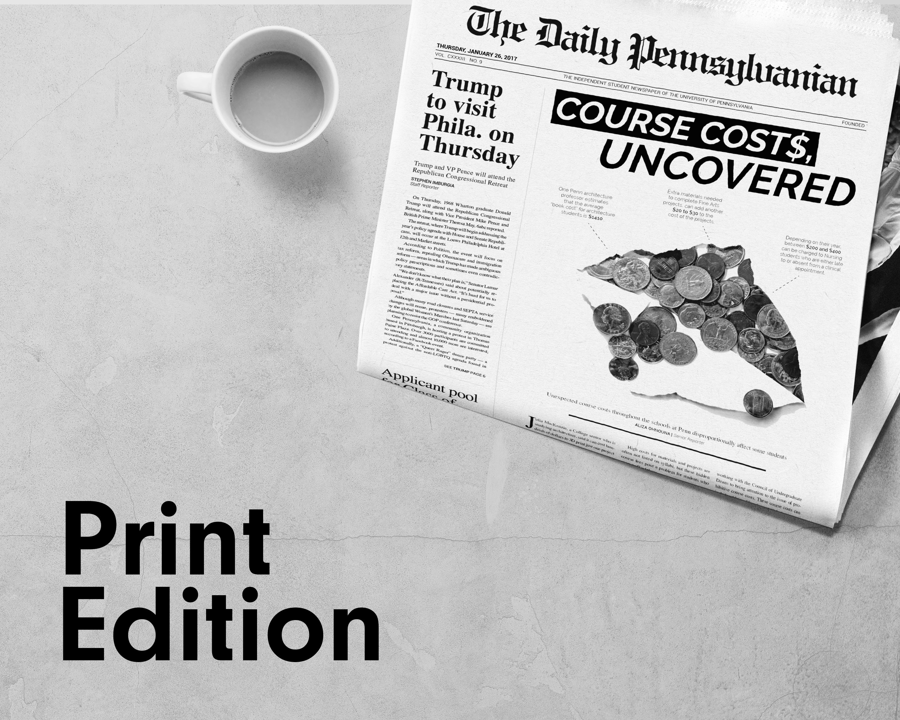 print edition of the daily pennsylvanian