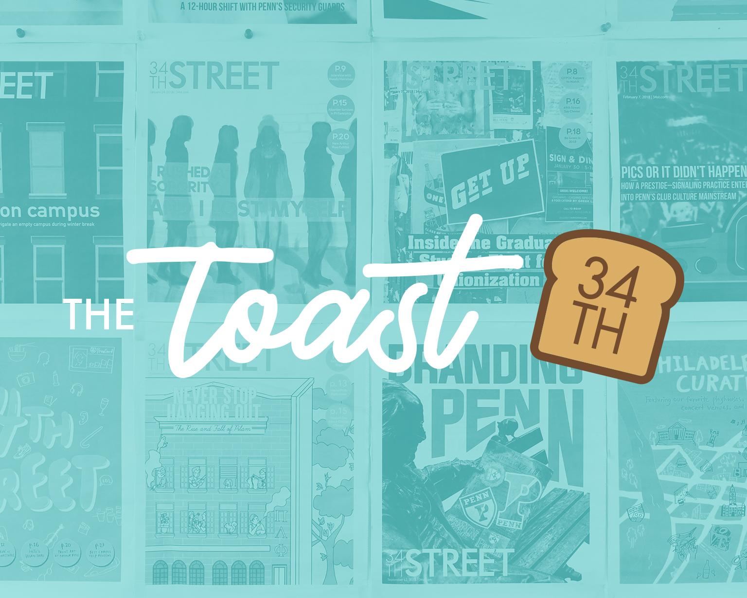 The Toast newsletter